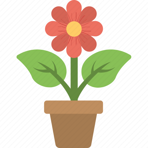 flower, gardening, plant, plantation, pot icon