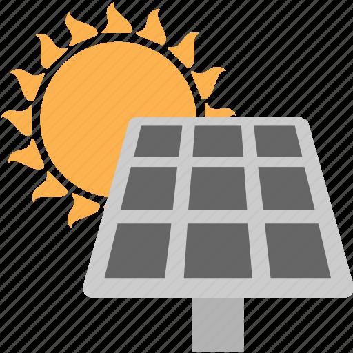 energy, solar, solar panel, solar system, sun icon