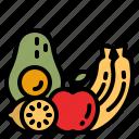 fruits, fruit, viburnum, healthy, food