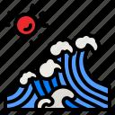 wave, sea, waves, tsunami, ecology