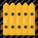fence, railing, wooden fence, palisade, stockade