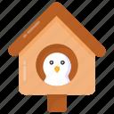 nesting box, birdhouse, aviary, bird feeder, nest house icon