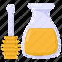 honey jar, honey, honey container, honey dip, honey bottle