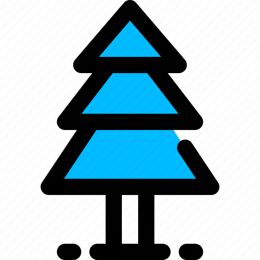 forest, pine, tree, x-mas icon