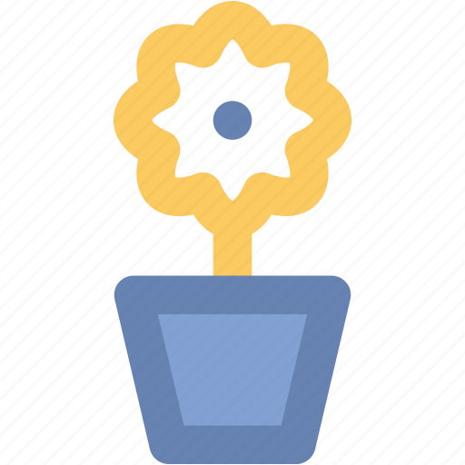 ecology, flower pot, garden, nature, plant pot, plants, pot icon
