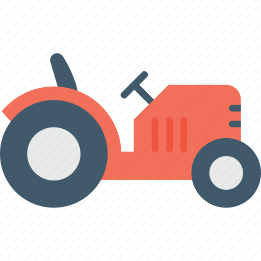 Farm tractor, farm vehicle, tractor, transport, vehicle icon - Download on Iconfinder