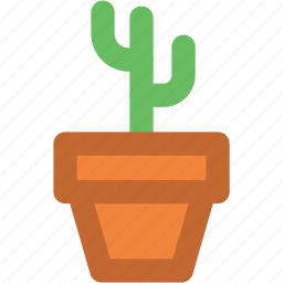 cactus, cactus plant, desert plant, garden, gardening, potted cactus, yard icon