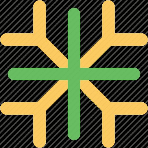 snow, snowflake, snowflake flower, winter, winter season icon