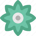 blossom, blossoming, floral, flower, sagittaria graminea, sunflower icon