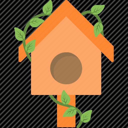 bird house, nest, nest box, pet, sparrow icon