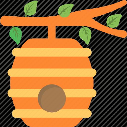 beehive, beekeeping, beeswax, honey, honeycomb icon