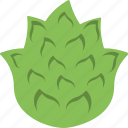 artichoke, diet, food, nutrition, vegetable icon