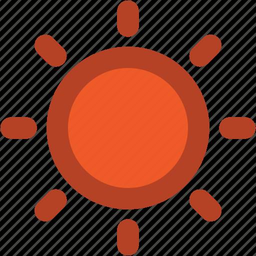 shining sun, summer, sun, sun beams, sunlight, sunny, sunrays, sunshine icon