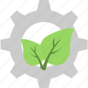 leaf, recycling, ecology, gear, cog