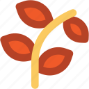 leaf branches, ecologism, leaves, branches, plant branch icon