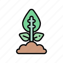 agriculture, flower, leaf, nature, plant icon