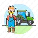 agricultural, agriculture, farm, farmer, farming, machinery, male, nature, tractor