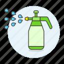 bottle, garden, gardening, handheld, nature, plant, spray, sprayer, watering icon