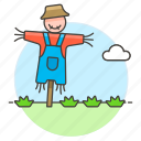 agriculture, bogeyman, countryside, farm, field, halloween, nature, ranch, scarecrow icon