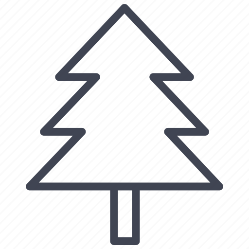 christmas, forest, large, nature, pine, tree icon
