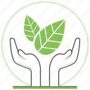 care, eco, ecology, nature, protection, save, world icon