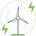 alternative, ecology, energy, green, nature, renewable, wind icon
