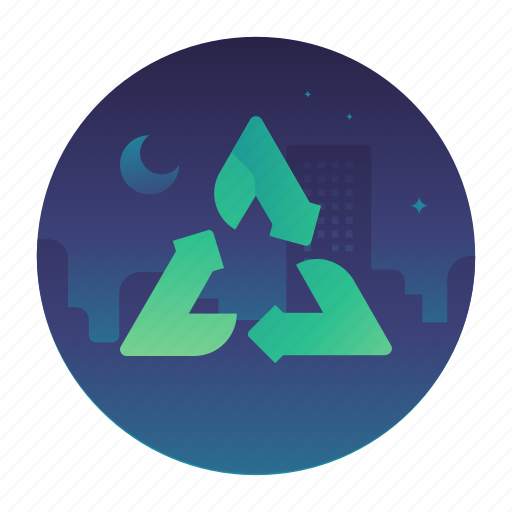 ecology, nature, recycle, reuse icon