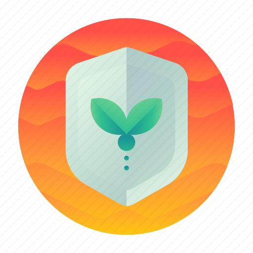 ecology, green, plant, protection icon