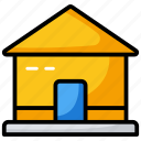 building, chalet, farmhouse, house, hut, mansion icon