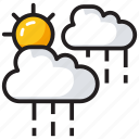 atmosphere, clouds, cloudy weather, nature, rain icon