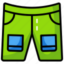 boxer, knickers, shorts, sports shorts, underpants icon