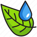 dew, hydration, moisture, rain drop, water droplet icon