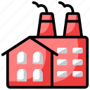 factory, firm, industry, mill, unit icon