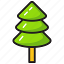 agriculture, conifer, gardening, nature, plantation, tree icon