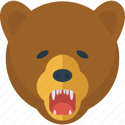 animal, bear, danger, nature, wild, wildlife icon