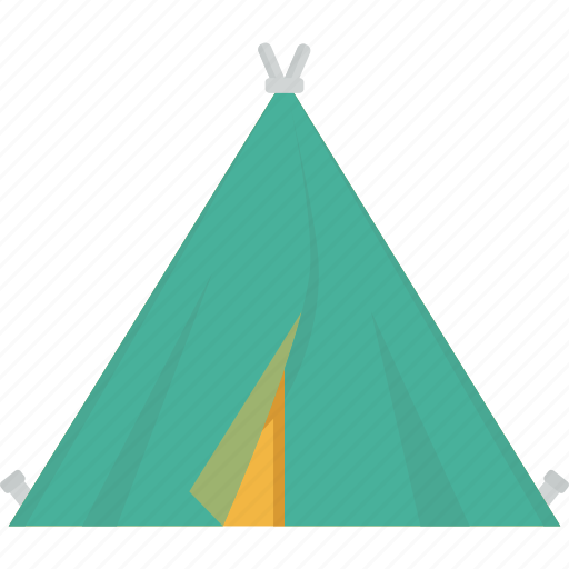 camp, camping, nature, relax, sleep, tent, wild icon