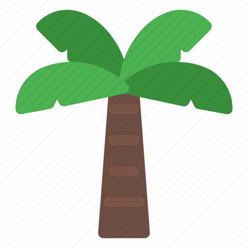 environment, green, leaves, nature, plam, plant, tree icon