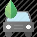 bio, car, eco, nature, recycle icon