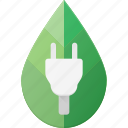 bio, concept, eco, electricity, plug, recycle icon