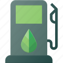 bio, eco, gas, recycle, station icon