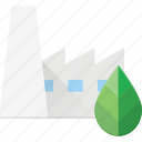 bio, eco, factory, recycle icon