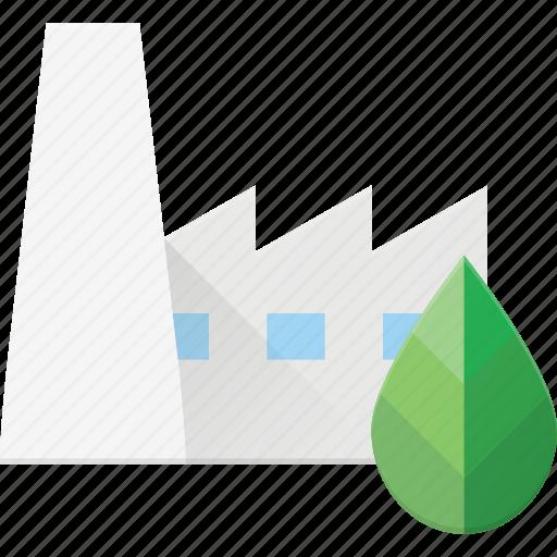 bio, eco, factory, recycle icon