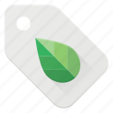 bio, eco, natural, recycle, tag icon