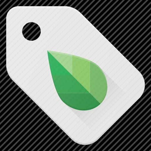 bio, eco, natural, recycle, tag icon