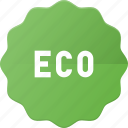 bio, eco, recycle, sticker, tag icon
