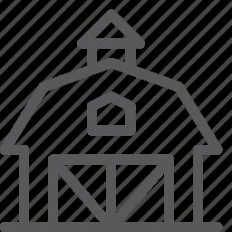 agriculture, barn, eco, farm, nature, storage, village icon