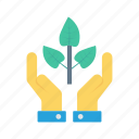 care, nature, plant, protection, soil icon