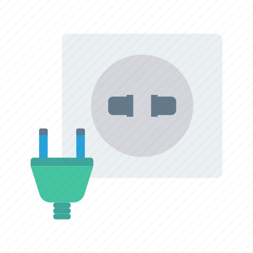 Connector, electric, plug, power, socket icon - Download on Iconfinder