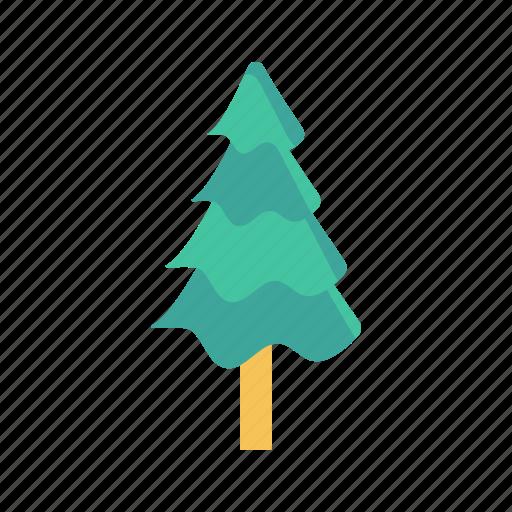 garden, nature, park, pine, tree icon