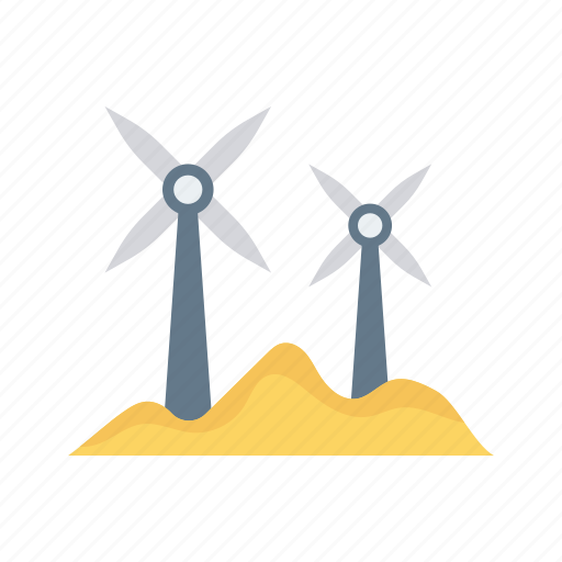 ecology, energy, nature, turbine, windmill icon